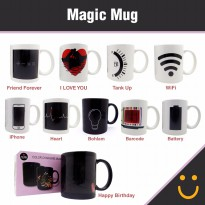 Magic Mug / Mug ajaib / Gelas Ajaib / Mug Bunglon
