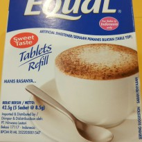 EQUAL TABLET REFILL ISI 500 TABLET