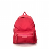 Tas Import Original Longchamp Le Pliage Neo Backpack Big - Red