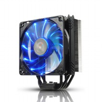 Enermax ETS-T40F-BK Multi Socket With Dual Fan 12cm Black Edition