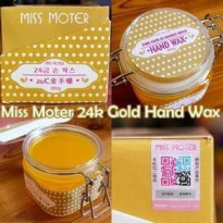 Miss Moter Wax Gold 24k - Whitening Gel Pemutih & Pelembut Kulit