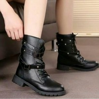 ankle boot woman punk up
