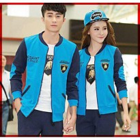 Jaket Baju Couple | Sweater Couple | Pakaian Kapel JKPK AT82