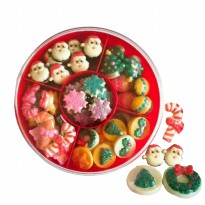 candy tray coklat ornament natal
