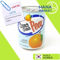 Lotte Crunch Crunch Pear 238ml / Minuman Buah Pear 238ml