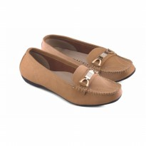 Sepatu Wanita/Flat shoes Jk Collection JMN 6305 Tan