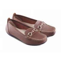Sepatu Wanita/Flat shoes Jk Collection JMN 6306 Coklat