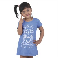 Catenzo Junior Kaos/ T-Shirt Anak Perempuan CPSx517 Owl Lovers