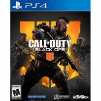 PS4 CALL OF DUTY BLACK OPS 4 Region 3 / Asia / English