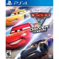 PS4 CARS 3 DRIVEN TO WIN Region 1 / USA / English