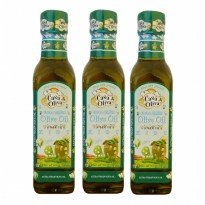 Casa di Oliva Extra Virgin Olive Oil For Kids With Omega 3 & 6 250 ml - 3 Pack