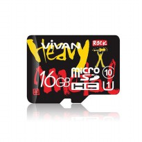 Vivan V16U10 16gb Class 10 Micro SD TF Card
