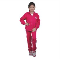 Catenzo Junior Jaket Sport Anak CMNx004 Pink Sporty