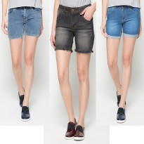 2Nd RED KOLEKSI CELANA PENDEK JEANS WANITA MURAH/HOT PANTS TRENDY/CLN PENDEK JEANS FAVORIT