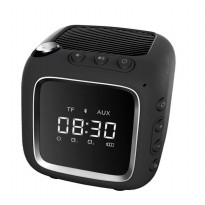 Robot RB530 Speaker With Clock Miror Support TF Aux FM