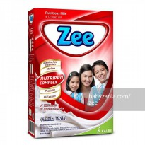 Zee Reguler Vanilla Twist Milk 350 gr
