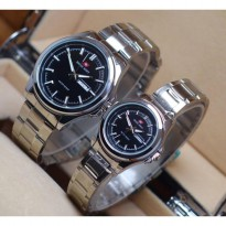 Swiss Army Couple - Stainless Steel silver