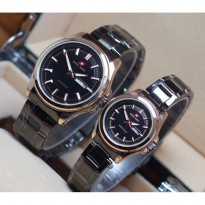 Swiss Army Couple - Stainless Steel gold