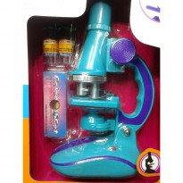 Kiddy Star Little Scientist - Microscope Anak - Mainan Edukasi Edisi PROMO
