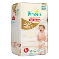 Pampers premium Care pants L42