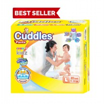 Popok - Cuddles Diapers Pull-Up Pants L20 -  better than sweety & mamy poko