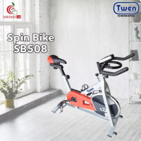 Spin Bike Twen Model SB508 Orange With Bottle Holder