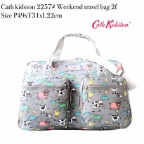 Tas Import Wanita Weekend Travel Bag 2F 2257 - 1