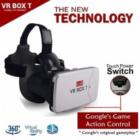 3D VR BOX T Cardboard 2 with Capacitive Touch Button