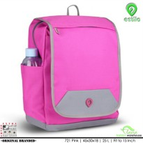 Tas Ransel Anak Laptop Sleeve free Raincoat / Raincover 721 Pink