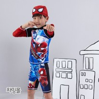 Namahdong Swimwear Set SP-4924 Spiderman Water Park Water