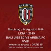 LIGA 1 MATCH1 2019 24 AUG 2019 - VVIP 1