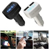 4in1 Car Charger,Voltmeter,AmpereMeter,Temperature, 4 in 1 car charger