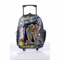 Catenzo Junior Tas Trolly Anak CRZx024 Black Best Seller