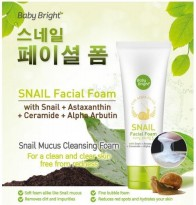 FACIAL FOAM SNAIL BABY BRIGHT