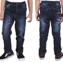 Catenzo Junior Celana Jeans Anak CBEx098 Navy Blue