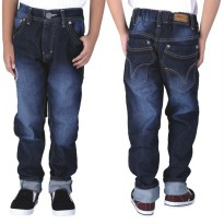 Catenzo Junior Celana Jeans Anak CNUx011 Navy Blue