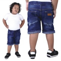 Catenzo Junior Celana Pendek Anak CNJx284 Navy Blue