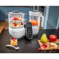 Babymoov Nutribaby Plus Food Steamer dan Blender Loft White