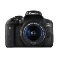 Canon EOS 750D Kit 18-55mm IS STM Kamera DSLR - Hitam