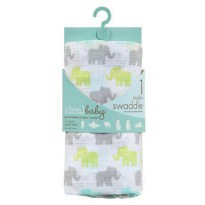 Ideal Baby 1 Muslin Swaddles - Tall Tale