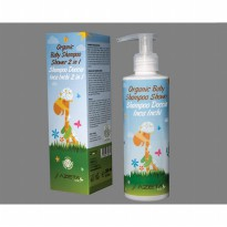 LIMITED Azeta Organic Baby Shampoo Showel 2 in 1 500ml