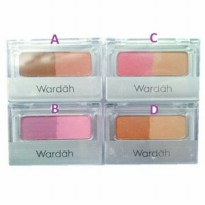 WARDAH BLUSH ON - 2pcs