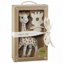 (Siap Kirim) Sophie the Giraffe and So'Pure Chewing Rubber Set
