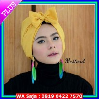 #Headpiece bow turban/turban pita