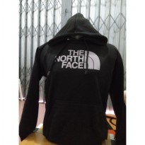 hoodie sweater the north face hitam