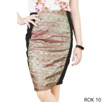 Females Skirts Katun Hitam – ROK 10