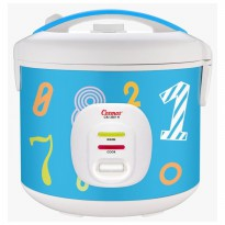 COSMOS Rice Cooker 1.8 Liter CRJ blue