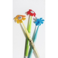 Pulpen Bunga / fancy pen cute flower unik
