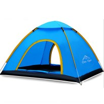 Automatic Speed Open Camping Tent / Tenda Camping - Biru