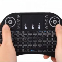 New I8 Mini Wireless Keyboard Mouse Combo BACKLIGHT with Battery BL